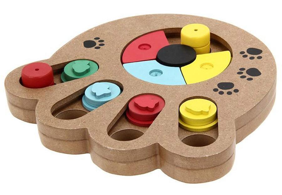 پازل چوبی پنجه شکل