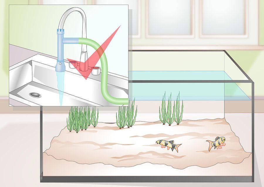 استفاده از دستگاه تعویض آب اتوماتیک